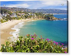 Crescent Bay Laguna Beach California Acrylic Print