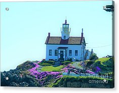 Crescent City Lighthouse Acrylic Print