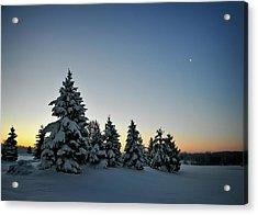 Crescent Dawn Acrylic Print