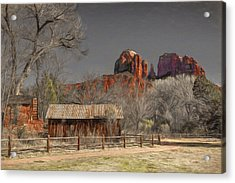 Crescent Moon Ranch Acrylic Print by Donna Kennedy