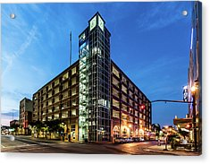 Acrylic Print featuring the photograph Cressman Center by Randy Scherkenbach