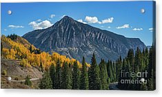 Crested Butte Mountain Acrylic Print