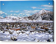 Crested Butte Panorama Acrylic Print
