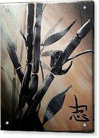 Crested Gecko In The Sunshine Acrylic Print by Judit Szalanczi