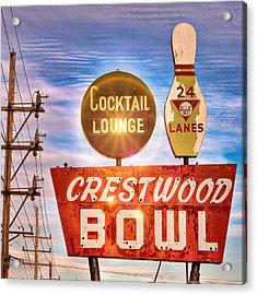 Crestwood Bowl Acrylic Print