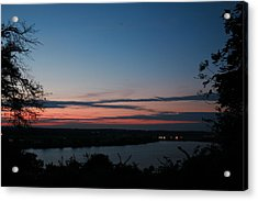 Creve Coeur Lake Sunset Acrylic Print