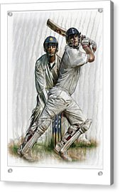 Cricket2 Acrylic Print by James Robinson