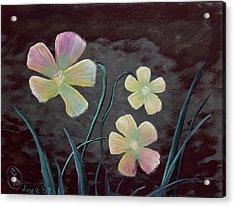 Crimson Flower Acrylic Print