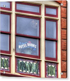 Cripple Creek Hotel Rooms 7880 Acrylic Print by Jerry Sodorff