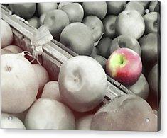 Crisp Harvest Acrylic Print by JAMART Photography