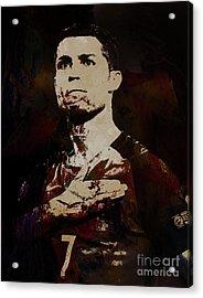 Cristiano Ronaldo Okia Acrylic Print
