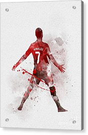 Cristiano Ronaldo United Acrylic Print