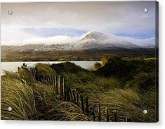 Croagh Patrick, County Mayo, Ireland Acrylic Print by Peter McCabe
