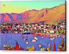 Croatia Coastal Living Acrylic Print
