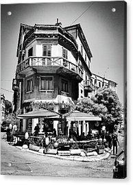 Croatian Jazz Cafe Acrylic Print by JMerrickMedia