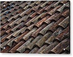Croatian Roof Tiles Acrylic Print