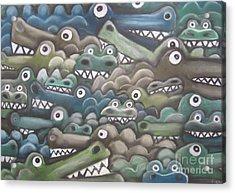 Crocodile Soup Acrylic Print
