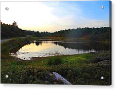 Acrylic Print featuring the photograph Crooked Lake Road by Jason Lees