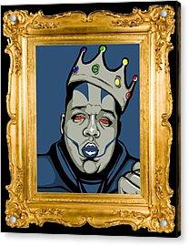 Acrylic Print featuring the digital art Crooklyn's Finest by Cg
