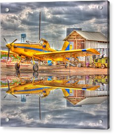 Crop Duster 001 Acrylic Print