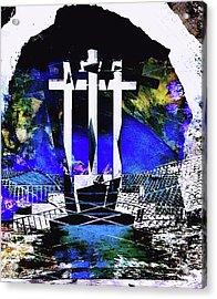 Cross Acrylic Print by Contemporary Art