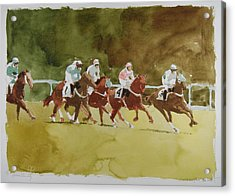 Cross Country Acrylic Print