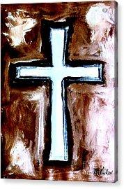 Cross For Me Acrylic Print by Marsha Heiken
