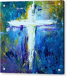 Cross - Painting #4 Acrylic Print