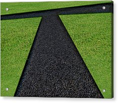 Acrylic Print featuring the photograph Cross Roads by Paul Wear