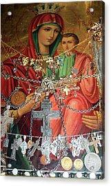 Crosses Acrylic Print by Munir Alawi