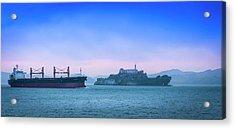 Crossing Alcatraz Acrylic Print