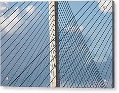 Crossing Blue - Acrylic Print