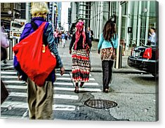 Acrylic Print featuring the photograph Crossing by Karol Livote