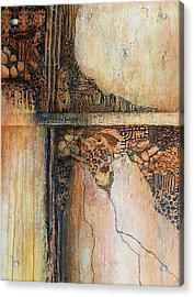 Crossing Paths With Ambiguity Acrylic Print