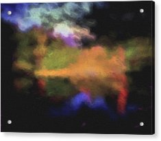 Crossing The Threshold Acrylic Print by William Horden