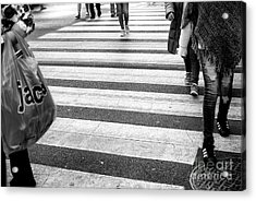 Acrylic Print featuring the photograph Crossings 238 by John Rizzuto