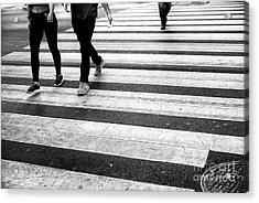 Acrylic Print featuring the photograph Crossings 239 by John Rizzuto