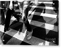 Acrylic Print featuring the photograph Crossings Adidas by John Rizzuto