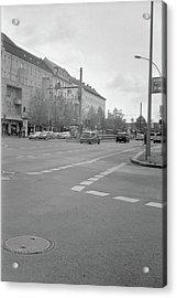Crossroads In Prenzlauer Berg Acrylic Print