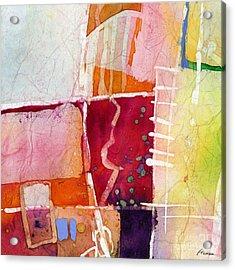 Crossroads - Red Acrylic Print