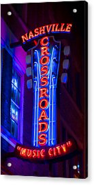 Music City Crossroads Acrylic Print by Stephen Stookey
