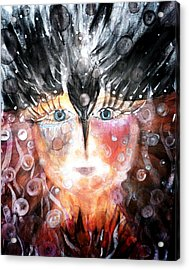 Crow Child Acrylic Print