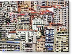 Crowded House Acrylic Print