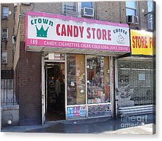 Crown Candy Store  Acrylic Print by Cole Thompson
