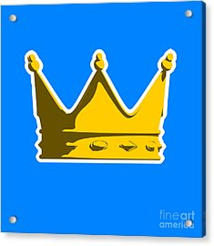 Crown Graphic Design Acrylic Print