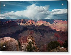 Crown Of Clouds Acrylic Print by Mike Buchheit