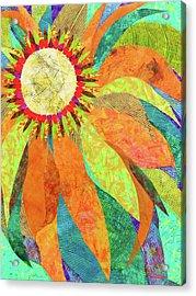 Crown Of Petals Acrylic Print