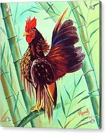 Crown Of The Serama Chicken Acrylic Print