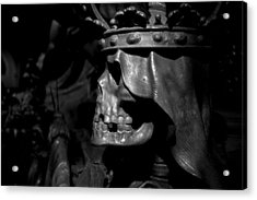 Crowned Death II Acrylic Print