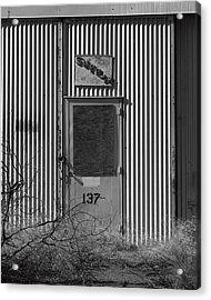 Crows Landing Base Supply Acrylic Print by Troy Montemayor